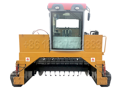 Crawler Type Windrow composting Turning Machine for Sale