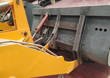Forklift Compost Turner Bucket Parts