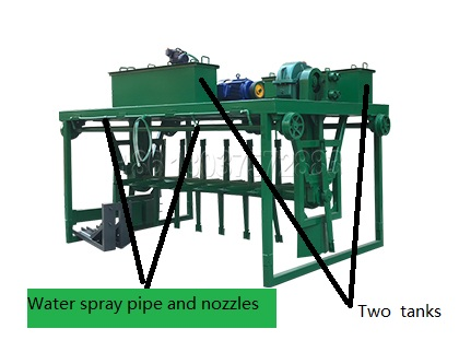Groove type organic waste pile turner for sale