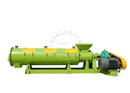 High yield organic fertilizer granulator machine