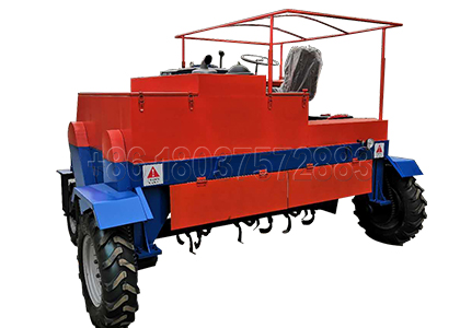 Moving Type Four-wheel Windrow Turner for sale