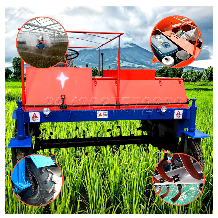 SEEC Self Propelled Commercial Compost Turner For Sale