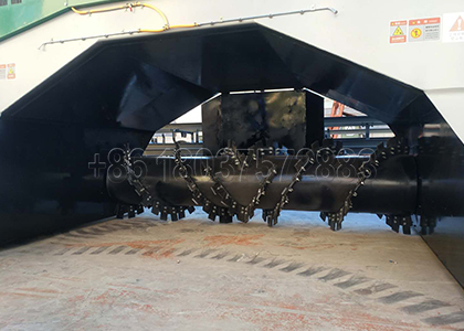 Turning Parts of SX Windrow Compost Pile Turner
