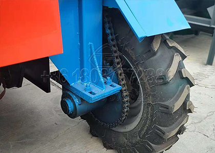 Tyre Moving Type Compost Turning Machine