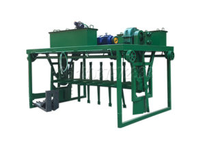 Vegetable waste composting machine